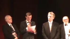 Ceremonia de primire a Diplomei şi Medaliei de Senior al Cetǎţii