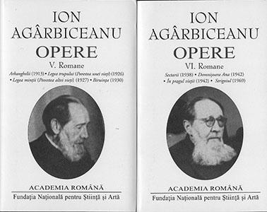 Ion Agârbiceanu, Opere, Vol. V-VI