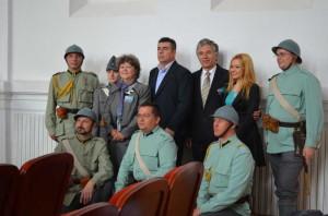 """Impreuna cu membri ai Asociatiei """"Traditia Militara"""""""