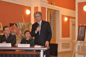 La ceremonia d elansare a volumului Seniorul Corneliu Coposu. Cluj-Napoca, 22 ianuarie 2-14. Foto: Ioana Adina Pop