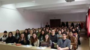 Cu studentii anului I, 23 febraurie 2015. Foto: Ioan Vladut Stanciu