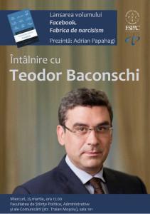 2015-03-20 - Teodor Baconschi la FSPAC