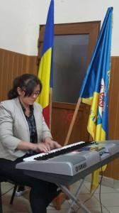 Artista Paisz Zitta, care ne-a incantat cu melodiile interpretate.