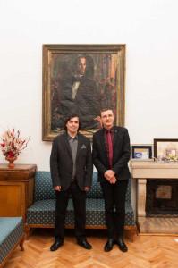 Mircea Cartarsecu si Ioan-Aurel Pop
