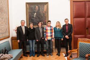 ILie Rad, Marta Petreu, MIrcea Cartarescu, Gabriel Cartarescu, Ioana Nicolaie, Ioan-Aurel Pop