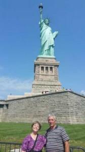 Cu Doina, in fata Statuii Libertatii