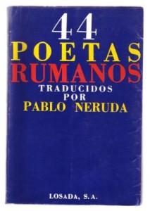 Coperta antologiei lui Pablo Neruda