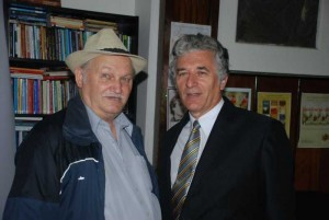 Constantin Cublesan si Ilie Rad
