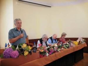 Ilie Rad, Horia Badescu,  Constantin Cublesan, Doina Rad