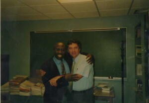 Cu Tom, in anul 2000, la SUNY Cortland